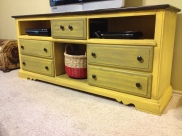 Curb find now entertainment center