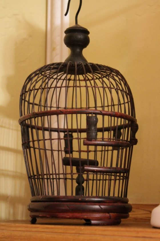 this birdcage was .47cents.  a very random price I know